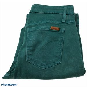 Joe's Jeans Green/Teal Stretch The Skinny Jeans